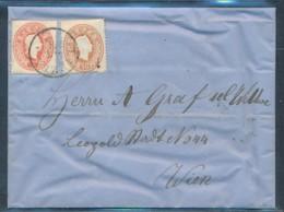 Österreich-Klassik - Netter Alter Beleg  (op2363 )  Siehe Scan - 1850-1918 Imperium