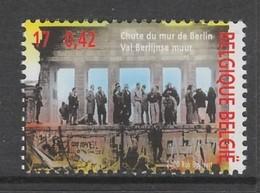 TIMBRE NEUF DE BELGIQUE - LA CHUTE DU MUR DE BERLIN N° Y&T 2947 - Geschichte