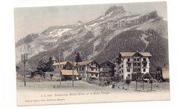 SUISSE - DIABLERETS, Grand Hôtel Et Le Scex Rouge  (G24) - VD Vaud