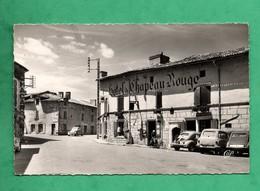 86 Vienne Lusignan Hotel Du Chapeau Rouge ( Format 9cm X 14cm ) - Lusignan