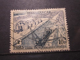 """VEND BEAU TIMBRE DE MADAGASCAR N° 329 , OBITERATION """" AMBOSITRA """" !!! - Used Stamps"""