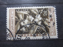 """VEND BEAU TIMBRE DE MADAGASCAR N° 331 , OBLITERATION """" TAMATAVE """" !!! - Used Stamps"""