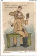 CPH 158,  OLD POSTCARD , HUMOR FANTASY , Signed - Humour
