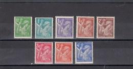 France - 1944 - N° YT 649/56** - Type Iris - 1939-44 Iris