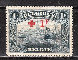 160**  Croix-Rouge - Bonne Valeur - MNH** - COB 125 - Vendu à 14% Du COB!!!! - 1918 Croce Rossa