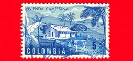 COLOMBIA - Usato - 1950 - Fattoria - Vivienda Campesina - Farm - 5 - Colombia