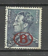 BELGIEN Belgium 1941 Michel 30 Dienstmarke Service Stamp O - Dienstpost