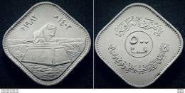 "IRAQ - 500 Fils-1982- Lion-Monument, ""Filsan"" -Commemorative Issue  Restoration Of Babel Series - KM 168a - RARE - Iraq"