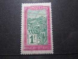 VEND BEAU TIMBRE DE MADAGASCAR N° 160 , (X) !!! - Unused Stamps