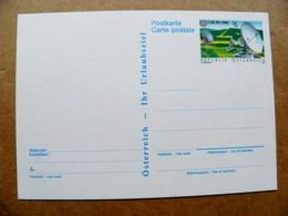 Postal Stationery Post Card Karte Austria Europa Cept Satellite 1988 - Entiers Postaux