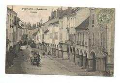 Louhans - Grande Rue Et Les Arcades - Louhans