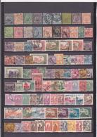 UN LOT DE 324 TIMBRES OBLITERES DEPUIS 1888 JUSQU'A 1955 PUIS APRES INDEPENDANCE - Tunesien (1888-1955)