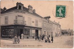 LIMAY-CAFE DU NORD-LA RUE BLANCASSEAU - Limay