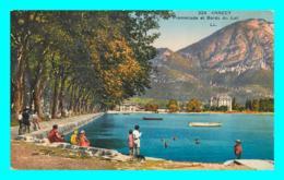 A734 / 273 74 - ANNECY Promenade Et Bords Du Lac - Annecy