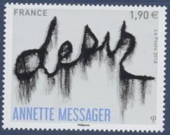 N° 5202 Annette Messager Faciale 1,90 € - Nuevos