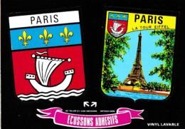 ECUSSONS ADHESIFS PARIS REF 61958 - Non Classés
