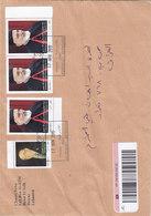 Lebanon-Libnan Regiustr.cover,small Szie, Franked X 3 Patr Sfeir + El Soilh - ( No Paypal & No Skrill ) - Lebanon