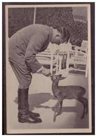 """DT- Reich (005819) Propaganda Sammelbild Deutschland Erwacht"""""""" Bild 208, Der Führer Ist Tierfreund - Deutschland"""
