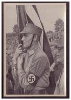 Dt.-Reich (005831) Propaganda Sammelbild, Deutschland Erwacht, Bild 61, Ein Kämpfer Für`s Dritte Reich - Deutschland