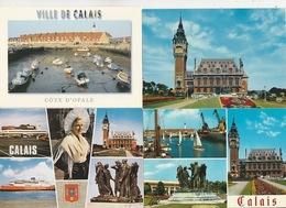 19 / 11 / 462. -   CALAIS  ( 62 ). - LOT  DE  18  C P M  - Toutes Scanées - Cartes Postales