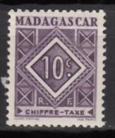 Taxe N° 31 - X X - ( C 1200 ) - Madagascar (1889-1960)