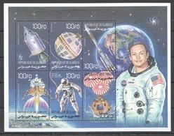 PK241 DE DJIBOUTI SPACE NASA ARMSTRONG 1KB MNH - Espacio