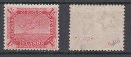 Cook Islands, MLH, 1902, Michel 28c - Islas Cook