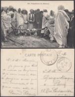 Tunisie - CP Vue - Préparation Du Méchoui (VG) DC4884 - Tunisia