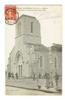 71 SAONE ET LOIRE BLANZY LES MINES L'Eglise Cyclone Du 8 Juin 1916 - France