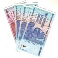 Zimbabwe  4 Notes Nc - Zimbabwe