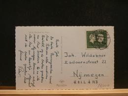 84/004   CP ALLEMAGNE POUR LA HOLLANDE   1954 - Briefe U. Dokumente