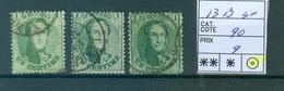 13B 3x Obl Côte 90.00€ - 1863-1864 Medallions (13/16)