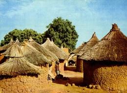 CPM République De Haute Volta Village De Haute-Volta - Burkina Faso