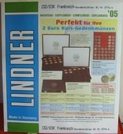 Lindner - Jeu FRANCE PETITS BLOCS 2005 - Albums & Binders