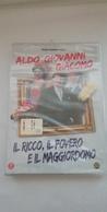 Rox  DVD - Il Ricco, Il Povero E Il Maggiordomo - Aldo Giovanni E Giacomo  -  Nuovo Sigillato - Comédie