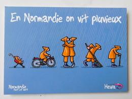 Heula , Normandie Fort Et Vert , Humour Régionaliste - Humour