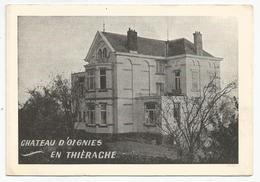Château D'Oignies En Thièrache - Publicités
