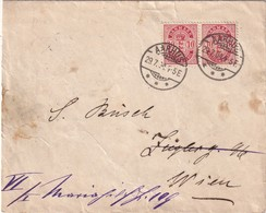 DANEMARK 1904 LETTRE DE AARHUS - 1864-04 (Christian IX)