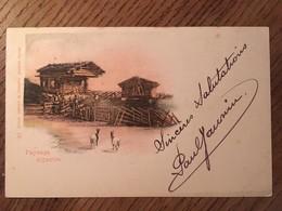 CPA, SUISSE,Paysage Alpestre (chèvres ?), écrite De Neuchâtel En 1899, Timbre, éd Comptoir De Phototypie, - Unclassified