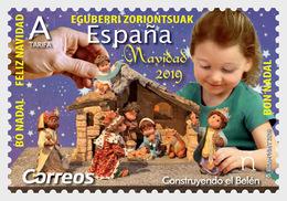 H01  Spain 2019  Christmas 2019 Building The Belen MNH Postfrisch - Spaans-Andorra