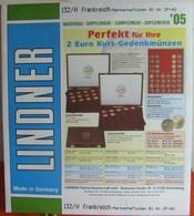 Lindner - Jeu FRANCE CARNETS 2005 - Albums & Binders