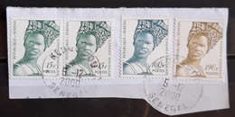 SENEGAL Senegalese Beauty. USADO - USED. - Senegal (1960-...)