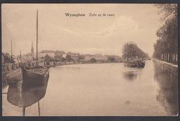 CPA -  Belgique,  WYNEGHEM, Zicht Op De Vaart - Wijnegem