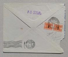 Busta Di Lettera Commissariato Nazionale Del Lavoro, Lecco-Milano - 06/10/1944 - Strafport