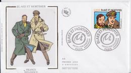 Blake Et Mortimer Enveloppe Premier Jour FDC 2004 - Stripsverhalen