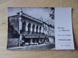 78 VERSAILLES HOTEL DE FRANCE - Versailles