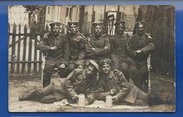 Carte Photo  Soldats Allemands    LUSTADT 3 AUG 1915 - Guerre 1914-18