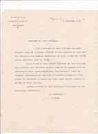 16-Chambre Syndicale Des Négociants Du Rayon Cognac...Cognac...(Charente)..1911 - France