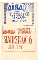 Pub Reclame - Droogkuis ALBA - Bazarken  Verhelst Ardeel - Aalter 1962 - Publicités