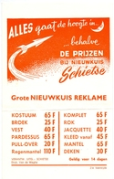 Pub Reclame - Nieuwkuis Schietse - Achiel Lambert - Maria Aalter Ca 1963 - Publicités